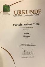 Marschwertung und Bezirksmusikertreffen 25.05.2019